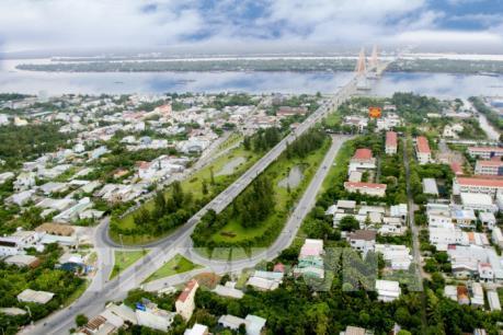 Tiềm năng phát triển đô thị dọc hai bên bờ sông Tiền