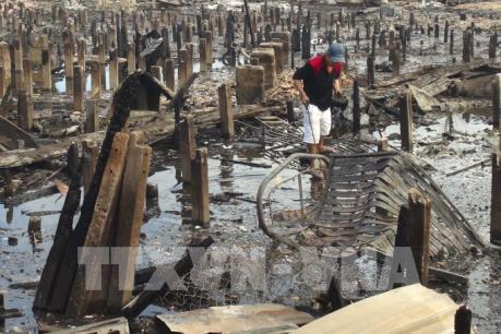 Vụ cháy kinh hoàng ở Khánh Hòa: Đưa 78 hộ dân vào ở tạm tại KTX Trường Cao đẳng Y tế