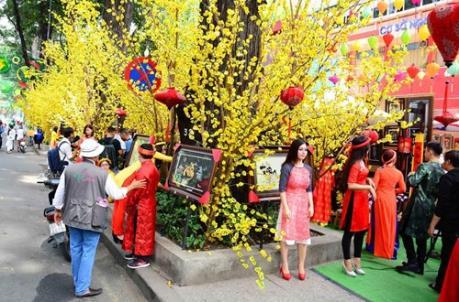 Thành phố Hồ Chí Minh: Lễ hội Đường sách Tết Đinh Dậu diễn ra từ ngày 25-31/1