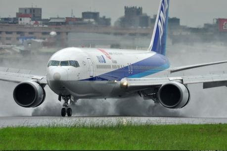 Máy bay ANA (Nhật Bản) trượt khỏi đường băng sau khi hạ cánh