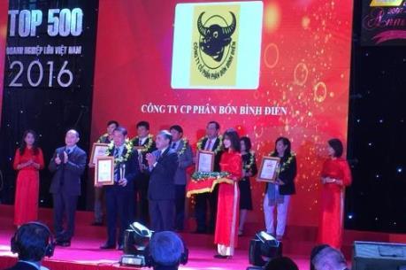 Vietnam Report công bố Top 500 doanh nghiệp lớn Việt Nam năm 2016