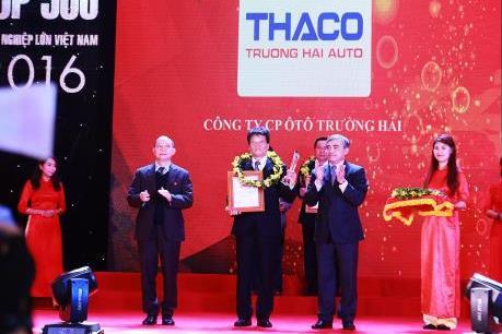 Thaco chính thức là doanh nghiệp tư nhân lớn nhất Việt Nam