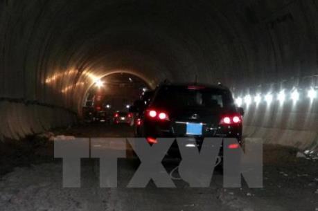Giải ngân vốn trái phiếu Chính phủ Dự án hầm đường bộ Đèo Cả