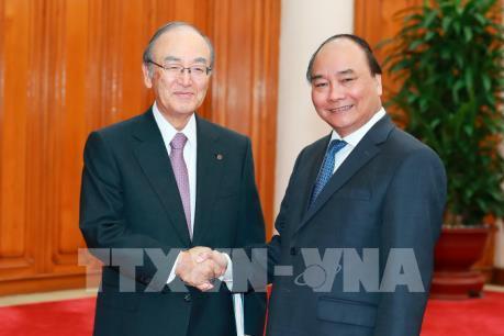 Thủ tướng Nguyễn Xuân Phúc:  Tạo điều kiện thuận lợi nhất cho các doanh nghiệp Nhật Bản