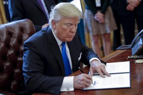 """Dự án Dakota Access """"hồi sinh"""" với tinh thần """"nước Mỹ là trên hết"""" của Tổng thống D.Trump"""