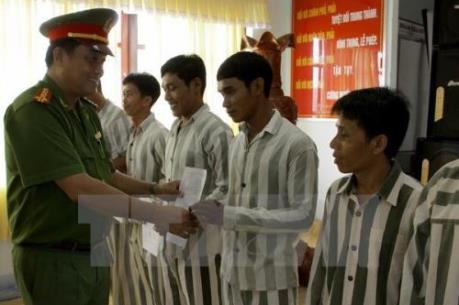 Tây Ninh: Giảm án phạt tù cho hơn 600 phạm nhân