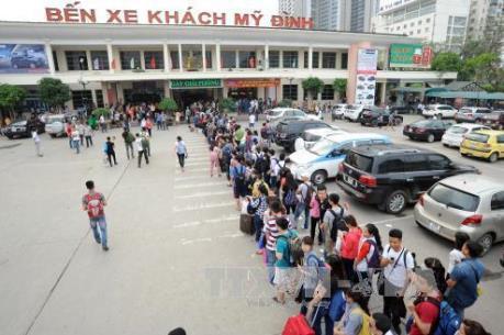 Vận tải phục vụ Tết ở Hà Nội: Giảm áp lực tại các bến xe