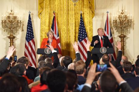 Tân Tổng thống Mỹ khẳng định quan hệ đồng minh với nước Anh