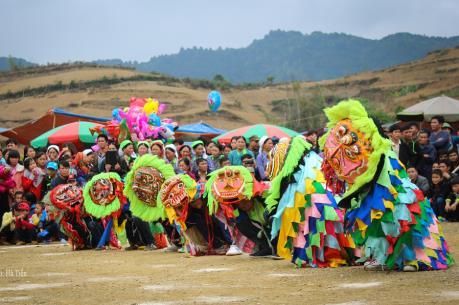 Múa sư tử mèo - Nét văn hóa đặc sắc đồng bào Nùng xứ Lạng