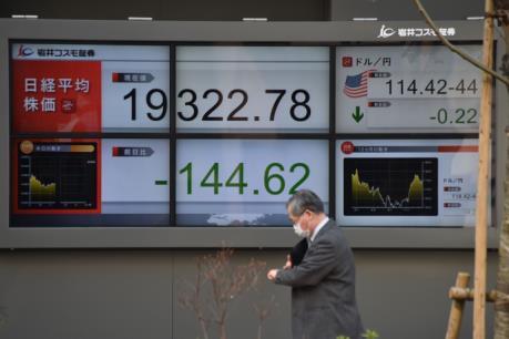 Chứng khoán Tokyo mở cửa trong sắc đỏ