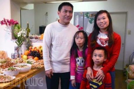 Ấm áp tết đoàn viên của một gia đình người Việt tại Nhật Bản