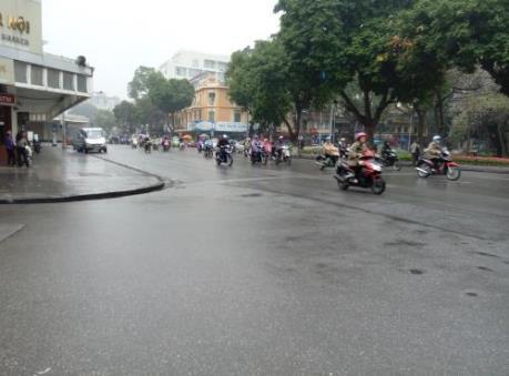 Dự báo thời tiết: Các khu vực trong cả nước đều có mưa trong ngày mùng 5 Tết Đinh Dậu