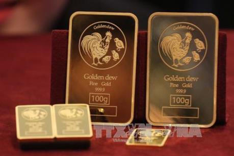 USD xuống giá đẩy giá vàng vọt lên mức cao