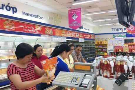Hoạt động bán lẻ tăng trưởng tốt trong mùa kinh doanh Tết