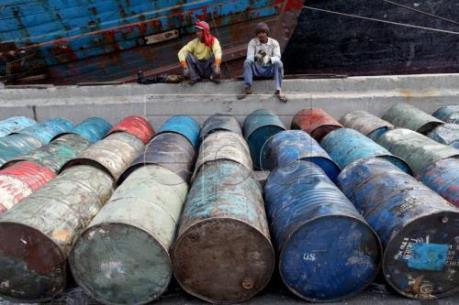 Giá dầu đi lên trên thị trường thế giới