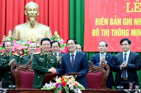 Viettel sẽ xây dựng đô thị thông minh tại Phú Thọ