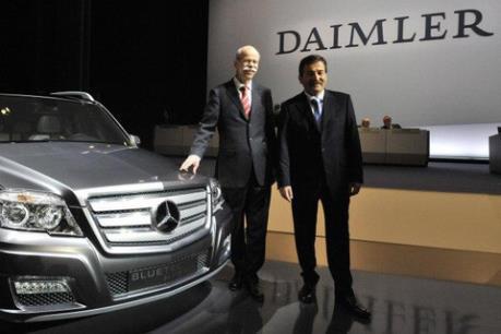 Daimler đặt kỳ vọng cao hơn vào năm 2017