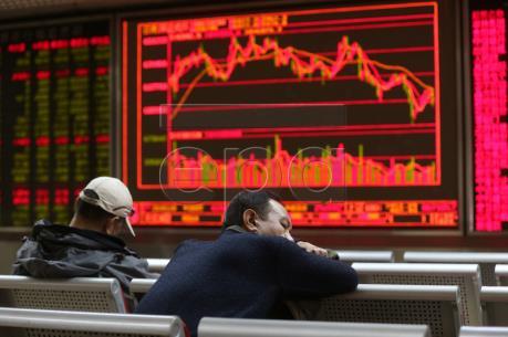 """Chỉ số MSCI của châu Á rời khỏi mức """"đỉnh"""" của ba tháng"""