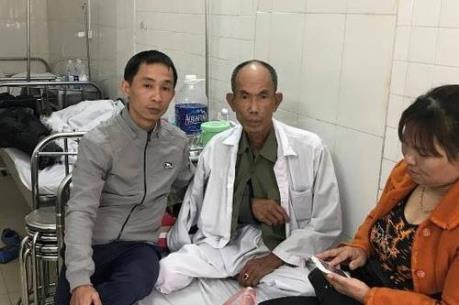 Thông tin về tình hình sức khỏe thương binh bị hành hung trong vụ va chạm giao thông