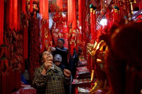 Người dân Trung Quốc chi tiêu mạnh trong dịp Tết âm lịch