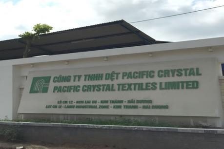 Phạt Công ty TNHH dệt Pacific Crystal gần 700 triệu đồng do vi phạm về bảo vệ môi trường