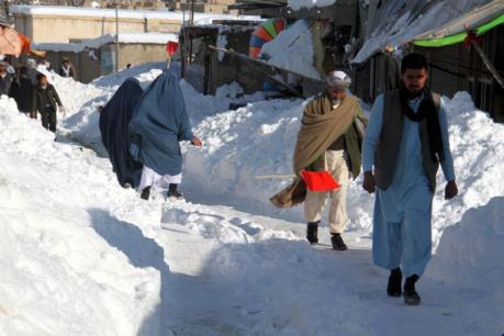 Lở tuyết ở Afghanistan khiến hơn 100 người thiệt mạng