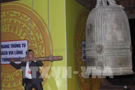 Công nhận bảo vật Quốc gia đôi chuông chùa Viên Minh tại Cao Bằng