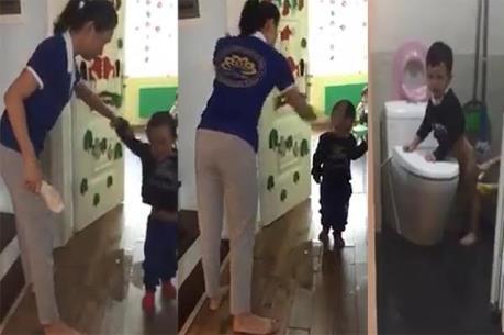 Vụ bạo hành trẻ mầm non tại Hà Nội: Tạm dừng hoạt động cơ sở mầm non Sen Vàng