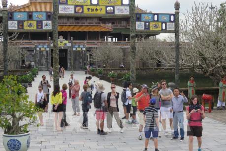 Du lịch Thừa Thiên - Huế khởi sắc ngay từ tháng đầu năm