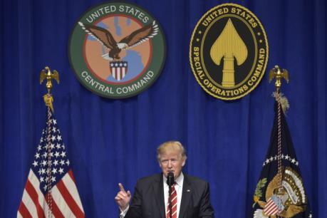 Tổng thống Mỹ D.Trump cam kết đánh bại IS