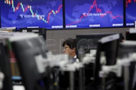 Các thị trường chứng khoán châu Á đồng loạt giảm điểm