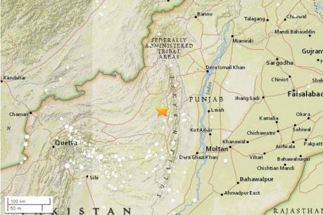Động đất mạnh làm rung chuyển Pakistan