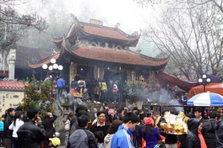 Du xuân cầu tài phát lộc năm mới với lễ hội đền Bà Chúa Kho