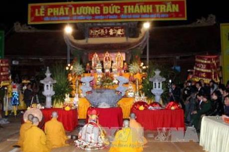 15 vạn túi lương sẽ được phát trong Lễ hội phát lương Đức Thánh Trần