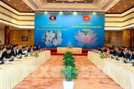 Tiếp tục cam kết triển khai hiệu quả các thỏa thuận cấp cao Việt Nam - Lào