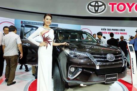 Thị trường miền Nam chiếm 45% doanh số bán xe của Toyota