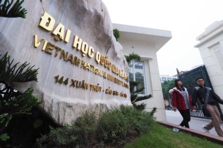 Đại học Quốc gia Hà Nội công bố thông tin tuyển sinh đại học chính quy năm 2017