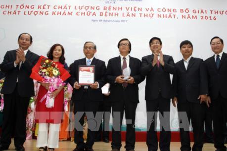 Bệnh viện Nhi đồng 1 đoạt giải Nhất Giải thưởng chất lượng khám chữa bệnh