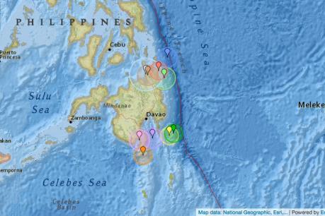 Động đất mạnh 6,7 độ richter ở Philippines