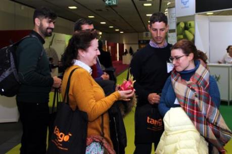 Thanh long Việt Nam tham gia Hội chợ quốc tế Berlin