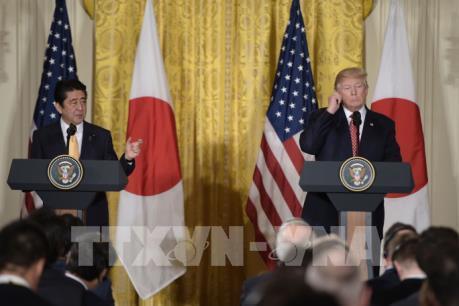 Lãnh đạo Mỹ, Nhật tổ chức cuộc gặp thượng đỉnh đầu tiên