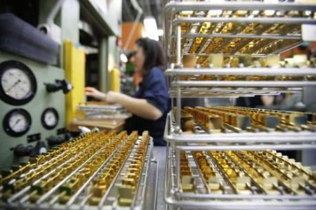 Giá vàng đạt mức cao nhất trong 5 tháng