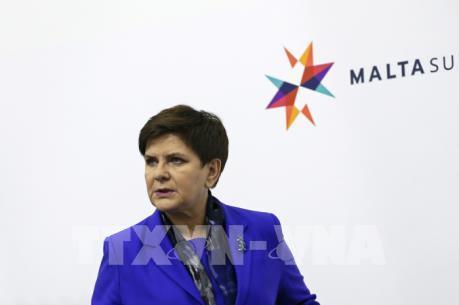 Thủ tướng Ba Lan bị chấn thương do tai nạn xe