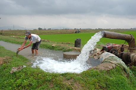 Hoàn thành vượt kế hoạch lấy nước đổ ải vụ Đông Xuân