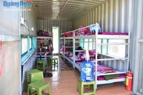 Mô hình nhà bán trú container - nâng bước học sinh vùng cao đến trường