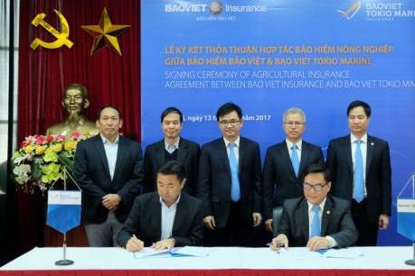 Thỏa thuận hợp tác nông nghiệp giữa bảo hiểm Bảo Việt và Bảo Việt Nhật Bản