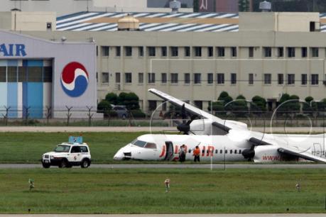 Hỏa hoạn tại sân bay quốc tế ở Hàn Quốc