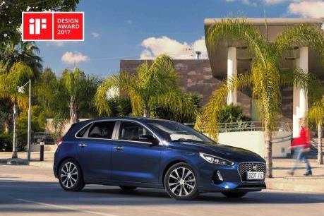 Hyundai i30 mới giành giải thưởng Thiết kế iF