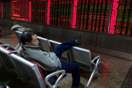 Các thị trường chứng khoán châu Á giảm điểm sau ba phiên tăng