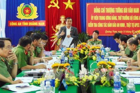 APEC 2017: Quảng Nam đảm bảo an ninh trật tự phục vụ các hoạt động APEC 2017
